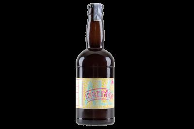 Ingefära Ale Öl Flaska Etikett